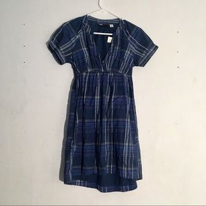 Urban Outfitters BDG Blue Plaid Dress